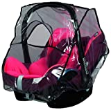 sunnybaby 13224- Universal Regenverdeck, Regenschutz für Babyschale, Baby-Autositz (z.B. Maxi Cosi,...