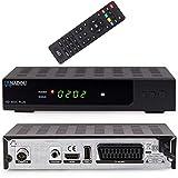 Anadol HD 202c Plus digitaler Full HD 1080p Kabel-Receiver [Umstieg Analog auf Digital] (HDTV, DVB-C / C2, HDMI, SCART, Coaxial, Mediaplayer, USB 2.0) – inkl. HDMI Kabel schwarz