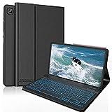 SENGBIRCH Tastatur für Galaxy Tab S6 Lite, Bluetooth Beleuchtete Tastatur mit Hülle für Tab S6...