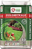 Green Tower Düngemittel Dolomitkalk, Grau, 10 KG