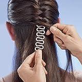 Flecht-Wunder, Flechthilfe Frisurenwunder Flechttool Haarstyling Flechtfrisur Haare flechten Werkzeug