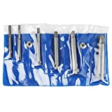 Gewindebohrer-Auszieher - Gebrochener Stahlgewindebohrer-Entferner Abgezogener Gewindebohrer-Ausziehersatz (Größe : 6PCS)