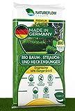 Natureflow Bio Baum-, Strauch-, Heckendünger 10,5kg - Gesundes, Schönes Wachstum - Perfekt als Premium Liguster, Thuja, Obstbaum und Kirschlorbeer Dünger