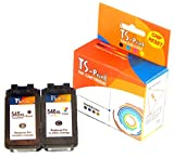 TS-Print 2er Set Druckerpatronen PG-545XL CL-546XL Schwarz Color Kompatibel für Drucker Canon Pixma iP2840 iP2850 iP2855 MG2450 MG2550 MG2555 MG2950 MG3050 MG3051 MX490 MX495 TR4551 TS3150