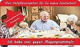 SAFLAX - Anzuchtset - Ich habe was gegen Magengrummeln - Mit 2 Samensorten, Gewächshaus, Anzuchtsubstrat, Zellfasertöpfen zum Umtopfen und Anleitung