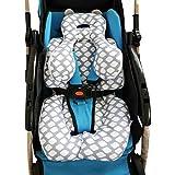vocheer Imfant Autositz-Stützkissen für Neugeborene, 0-12 Monate (Wolken)