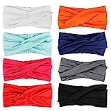 HBF 8 stk mehrfarbig Kopfband Haarspange, speciales neues Design für Damen