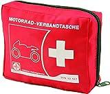 Actiomedic® CAR SAFETY Motorrad-Verbandtasche DIN 13167:2014 Rot