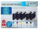 United Office Druckerpatronen Patronen Drucker Printer Multipack E071