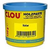 Clou Holzpaste zum Reparieren und Auskitten von Holzschäden natur, 150 g: gebrauchsfertige Paste geeignet für den gesamten Innenbereich