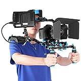 Neewer Film Video Macher System Set mit F100 7-Zoll 1280x800 IPS-Bildschirm Feldmonitor (4k...