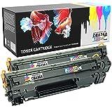 Prestige Cartridge CRG713 Tonerkartuschen für Canon i-Sensys LBP-3250, Twinpack, schwarz