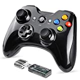EasySMX Gaming Controller, 2.4G Wireless Gamepad, PS3 Controller, Dual Vibration, 8 Stunden...