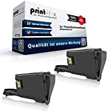 2x Kompatible Tonerkartuschen für Kyocera FS 1041 1220 MFP 1320 MFP 1T02M50NL0 TK1115 TK-1115 TK 1115 Schwarz Black - Office Print Serie