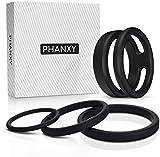 PHANXY 4er Penisring Set - Silikon Cockringe für Männer Cockringe zur Potenzsteigerung