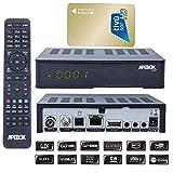 Apebox C2 4K UHD 2160p DVB-S2X & DVB-T2/C + mit AKTIVIERTE TIVUSAT Karte