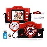 GREPRO Kinder Kamera, 1080PHD 40MP Fotoapparat Kinder für 4-14 Jahre alt mädchen und Jungen,...