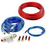 WATERMARK CK-1000 Auto Car Hifi Verstärker Endstufe Kabelsatz Anschlusskabel Kabelsatz Cinch-Kabel Remote-Leitung 10 qmm