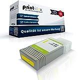 Kompatible Tintenpatrone für Canon imagePROGRAF IPF 750 Series IPF 755 IPF 755 MFP IPF 76 IPF 760 MFP IPF 760 MFP M 40 0898B001 PFI-102Y PFI102Y Yellow Gelb - Eco Plus Serie