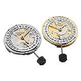 Tutoy Mechanische Automatische Uhrenbewegungskalender High Accuracy Wristwatch Ersatz Für ETA 2824 - Gold
