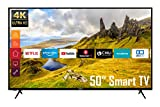 Telefunken XU50K521 50 Zoll Fernseher (4K Ultra HD, HDR, Triple-Tuner, Smart TV, Works with Alexa)...