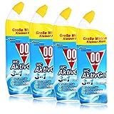 00 null null Flüssiger WC Reiniger, Cool Arctic-Duft, WC Aktiv Gel 4in1 4er Pack (4 x 750 ml)