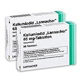KALIUMIODID Lannacher 65mg Sparset 2x20St.