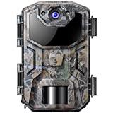Victure Wildkamera Fotofalle 20MP mit Bewegungsmelder Nachtsicht 1080P Full HD Beutekameras mit Infrarot Leichtes Glühen IP66 Wasserdicht Wildtierkamera für Jagd und Tierbeobachtung