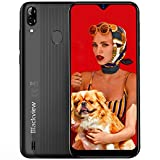 A60 Pro Smartphone MTK6761 Quad-Core-Android 9.0 Handy 3 GB + 16 GB Wassertropfen Schirm-Handy Face...