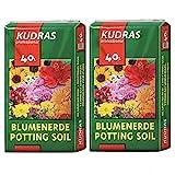 Kudras Blumenerde Universalerde 80L (2x40L Doppelpack)