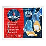 THE HEAT COMPANY Fußwärmer - 5 Paar - EXTRA WARM - klebend - Zehenwärmer - 8 Stunden warme Füße - sofort einsatzbereit - luftaktiviert - rein natürlich - für alle Größen