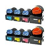 8 Toner kompatibel für Canon CEXV21 Imagerunner IR C 2380 I 2800 Series 2880 I V2 3080 3380 I 3580 I NE - 0452B002-0455B002 - Schwarz 26.000 Seiten, Color je 14.000 Seiten