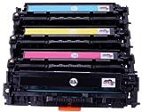 Premium 4x Toner Kompatibel zu Canon i-Sensys LBP-7100 / LBP-7110, MF-8230 / MF-8280 (731) (BK,C,Y,M)
