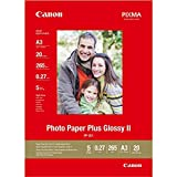 Canon PP-201 Fotoglanzpapier Plus (265 g/qm), A3, 20 Blatt