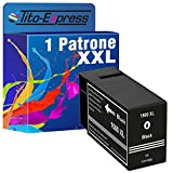 Tito-Express PlatinumSerie 1 Tinten-Patrone XXL kompatibel Schwarz zu Canon PGI-1500 XL Maxify MB 2000 Series MB 2050 MB 2100 Series MB 2150 MB 2350