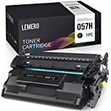 LEMERO Kompatibel Toner für Canon 057 057H für Canon i-SENSYS LBP223dw 226dw 228x MF443dw 445dw 446X 449X Drucker