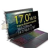 Xianan 17' (16:10) Displayfilter für Laptop - 14,45x9,02' / 367x229mm Displayschutz Sichtschutzfolie Privacy Filter Blickschutzfilter Blickschutzfolie