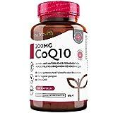 Coenzym Q10 200mg - 100% reines und natürlich fermentiertes Ubichinon - *PREISTRÄGER 2021-120 vegane Kapseln (Vorrat für 4 Monate) - Laborgetestet in Deutschland - Hochdosiert