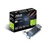 ASUS NVIDIA GeForce GT710-SL-2GD5-BRK Grafikkarte (Nvidia, PCI-E 3.0, 2GB DDR5 Speicher, 1xHDMI, 1xDVI)