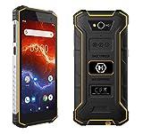 "Hammer Energy 2 Outdoor Handy 5,5"" HD+ IPS, 5000mAh Mega-Akku mit Schnellladen, IP68, IK05, LTE,..."