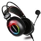 E3 Xbox one Headset,PS4 Headset,Ultraleichter 3.5mm Surround Sound Gaming Kopfhörer,Soft Memory Kopfhörer Mit Mikrofon,Geeignet Für PC,Laptop,Videospiel,Flexibler Mikrofonlautstärkeregelung