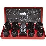 PEDDINGHAUS 8004509001 Lochstanzer-Satz Loch ø 3-50 mm 25-teilig, schwarz, ø 3 à 50 mm