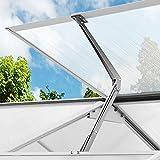 Deuba Automatischer Fensteröffner Gewächshaus 7,5 kg Hubkraft 45cm Öffnungshöhe stufenloser Öffnungswinkel Fensterheber