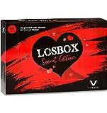 Losbox für Paare Secret Edition von VULAVA® - die erotische Losbox mit 50 Losen ist das Geschenk für Paare Frauen Männer Freund und Freundin - Die Überraschung für mehr Lust Sex und Liebe