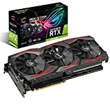 ASUS ROG Strix Nvidia GeForce RTX 2060S 8G Gaming Super Grafikkarte (PCIe 3,0, 8GB DDR6 Speicher, HDMI, Displayport, USB Type-C, Standard Edition)