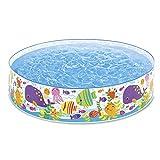 Intex Ocean Play Snapset Pool - Kinder Aufstellpool - Planschbecken - Ø 183 x 38 cm - Für 3+ Jahre