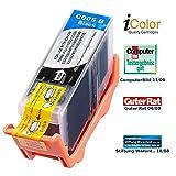 iColor Pixma IP 4200, Canon: Patrone für Canon (ersetzt PGI-5BK), mit CHIP Black (Pixma MP 970, Canon)
