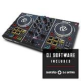 Numark Party Mix - der ursprüngliche 2-Kanal Plug und Play DJ Controller für Serato DJ Lite mit...