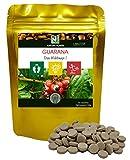 Guarana / 90 600mg Tabletten/NAKURU Power/Bio-Pulver getrocknet und kalt verdichtet/Analysiert und verpackt in Frankreich /'Das Waldauge!'