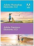 Adobe Photoshop Elements 2021 & Adobe Premiere Elements 2021 Retail 1 Gerät unbegrenzt PC/MAC Disc Disc
